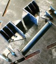 """Classic Ford Bronco rear shock mounts-the-Cab Shock Mounts 2.5"""""""