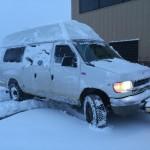 Ocotillo cruiser in the snow