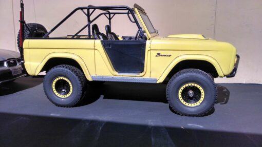 Ford Bronco Sportsman Cage