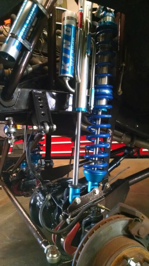 King coilovers on ford bronco