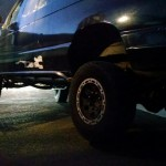 Ford econoline rock slider