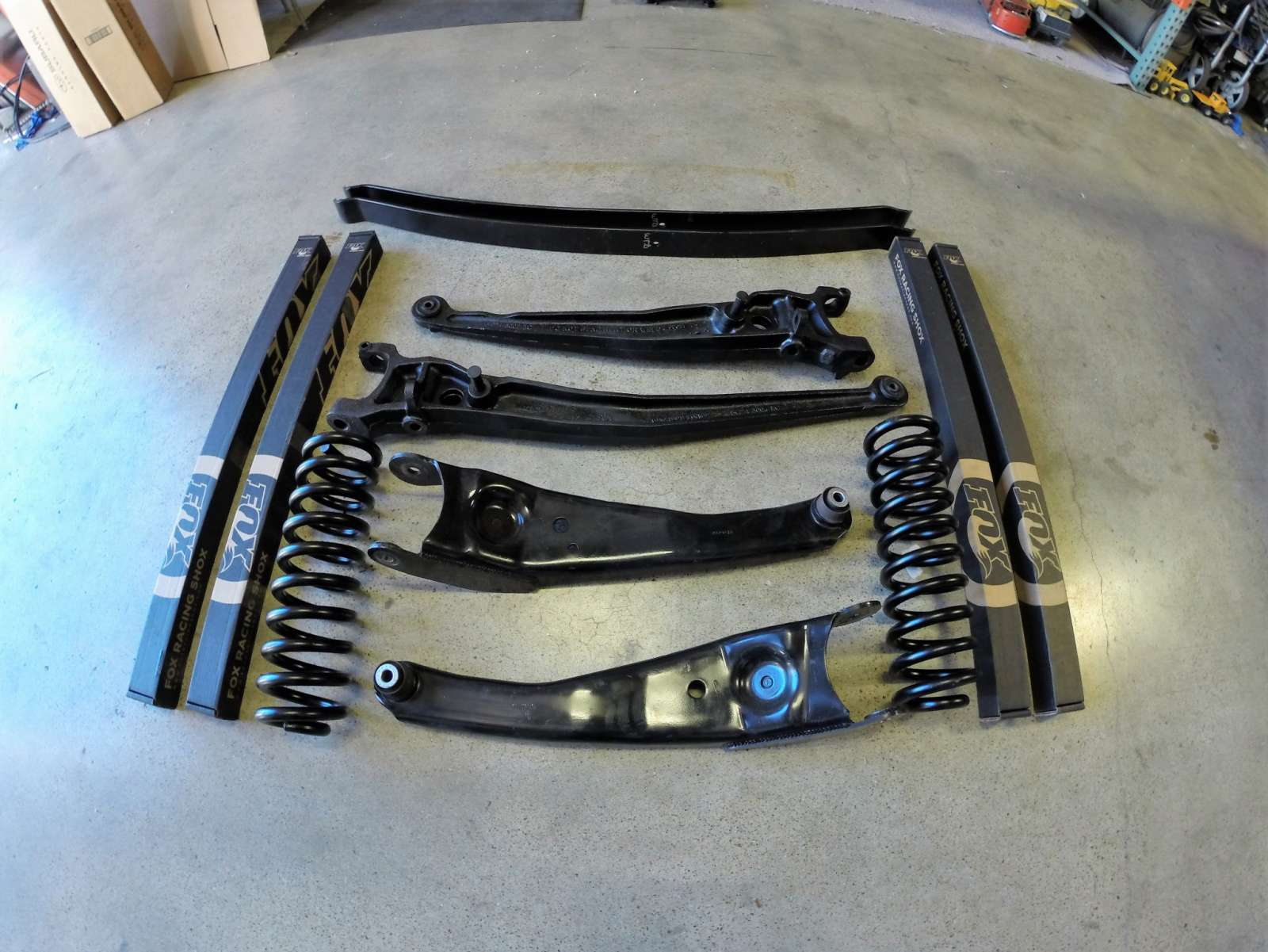 Ford e series 4 suspension performance package weldtec for Suspension design