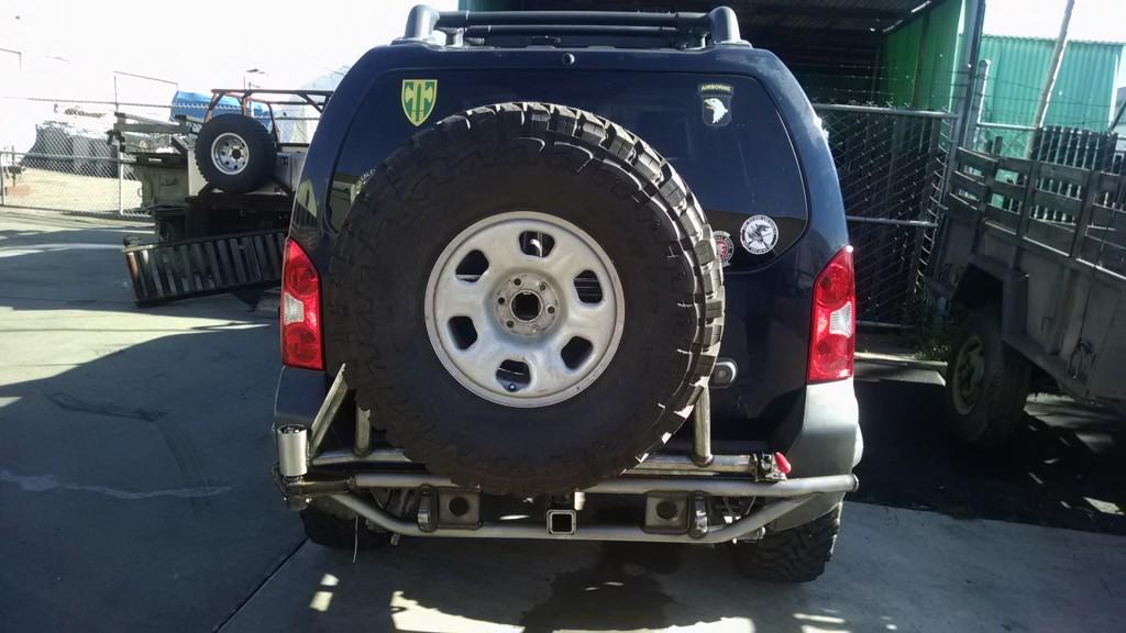 Nissan Xterra rear bumper