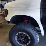 Ford econoline front fender