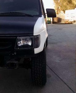 Ford econoline van fiberglass fender
