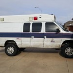 Ambulance van lift