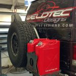 WTD rear bumper and tire swing