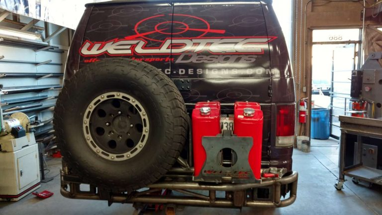 weldtec designs bumper & tire carrier