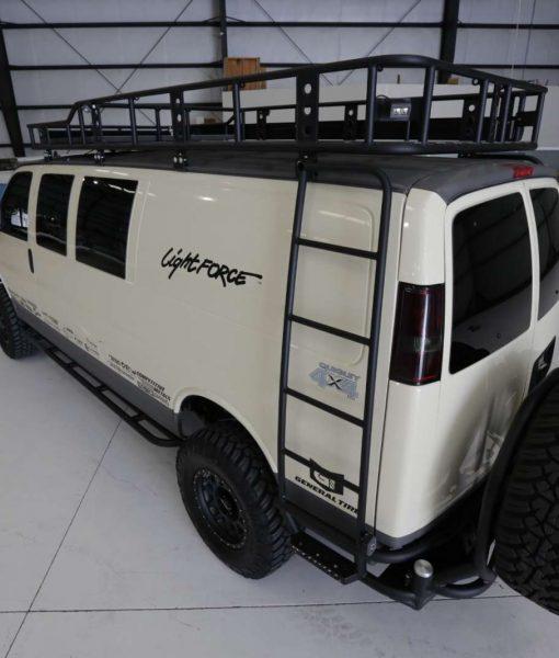 Chevrolet Quigley 4 Sema Van