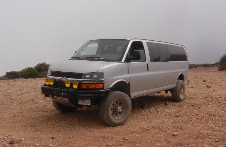 Chevrolet Express Van Lift Kit 55 Inches
