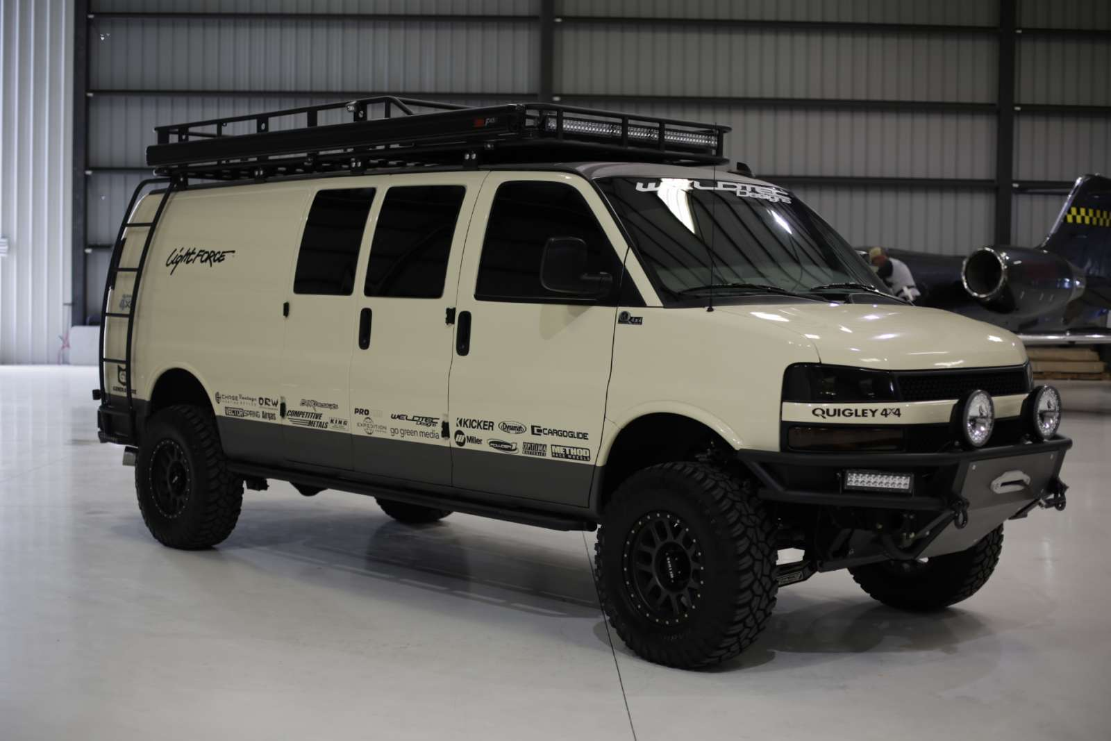 Chevrolet Sema 4x4 Van Build