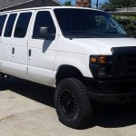 lifted ford van