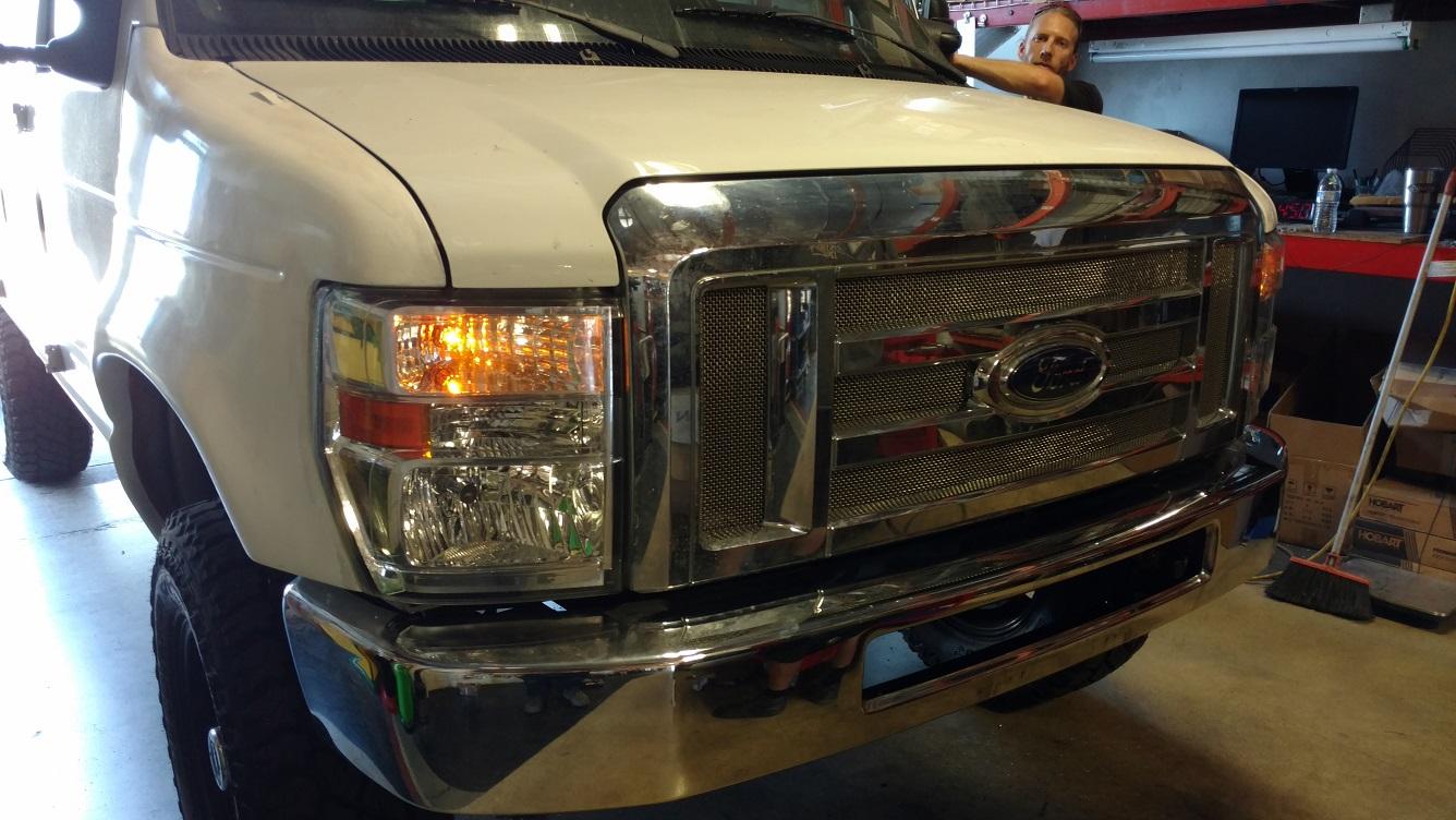 4e14e50222f8 Ford E-Series Fiberglass Conversion - WeldTec Designs