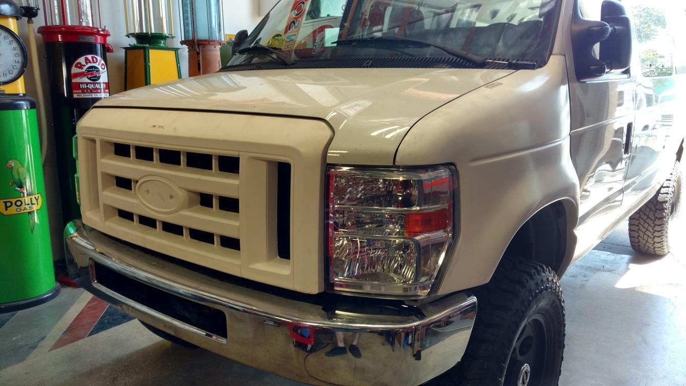 7f9a0e03ec1c 2008-14 ford econoline fiberglass. 2008-14 Ford van fiberglass fenders
