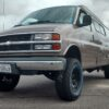 Chevrolet Express suspension lift kit
