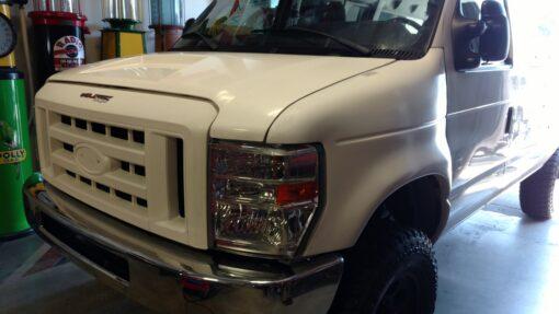 Ford van fiberglass conversion