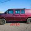 AFTER CHEVROLET EXPRESS LIFT