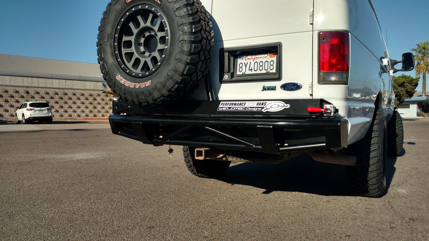 SAN FELIPE REAR BUMPER,Ford E-Series Rear Bumper