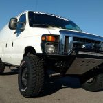Ford Econoline 6 inch lift on 35inch tires