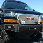 Chevrolet Express aluminum front bumper