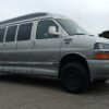 chevrolet express 3500 explorer van with 5 inch lift