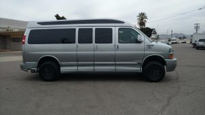 Chevrolet Express 5 lift kit