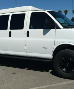 Chevrolet Express 4x4 van lift
