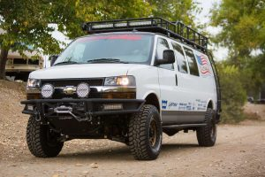 Chevrolet Express 4x4 Coilover Suspension