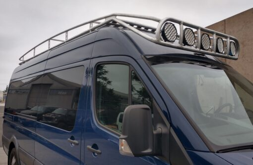 mercedes-benz aluminum roof rack-sirius