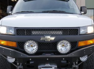 Chevrolet Express Grill LED Bar Mount