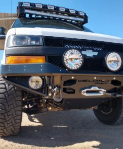 Chevrolet Express Tube Winch Bumper STEALTH
