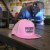 GROWING UP GARAGE HAT PINK